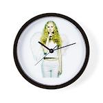 Angel Shhh Wall Clock