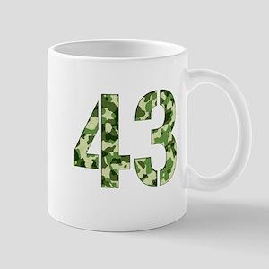 Number 43, Camo Mug