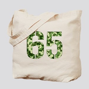 Number 65, Camo Tote Bag
