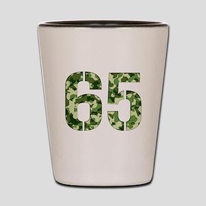 Number 65, Camo Shot Glass