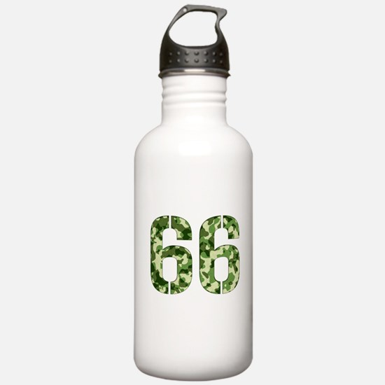 Number 66, Camo Water Bottle