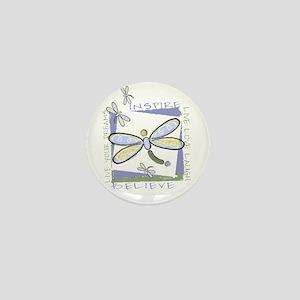 Inspire Dragonflies Mini Button