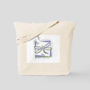 Inspire Dragonflies Tote Bag