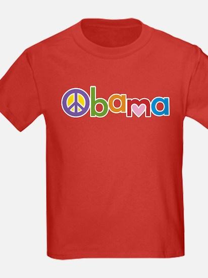 Peace, Love, Obama T