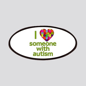 I Love Someone with Autism Patches