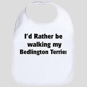 Rather: Bedlington Terrier Bib