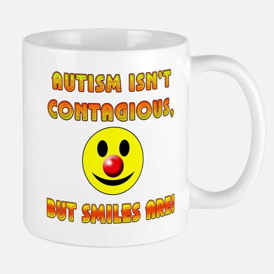 Autism Isnt Contagious but Smiles Are Mug