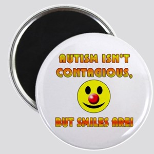 Autism Isnt Contagious but Smiles Are Magnet