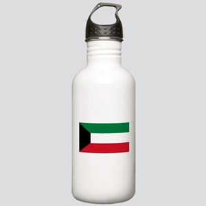 Kuwait Flag Stainless Water Bottle 1.0L
