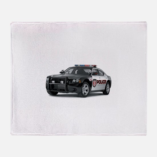 Unique Police Throw Blanket