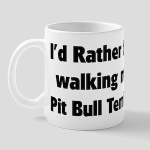 Rather: Pit Bull Terrier Mug