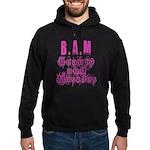 B.A.M Hoodie (dark)