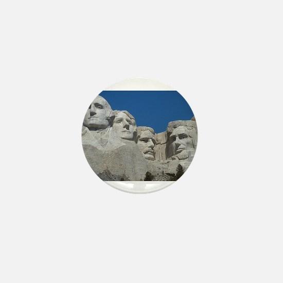 Mount Rushmore Mini Button