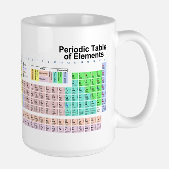 Periodic Table Large Mug