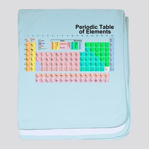 Periodic Table baby blanket