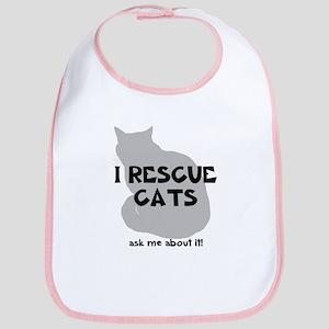 I RESCUE Cats Bib