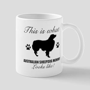 Australian Sheepdog Mommy Mug