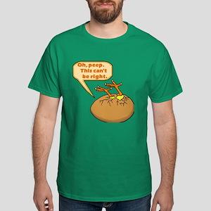 Funny Chick in Egg Dark T-Shirt