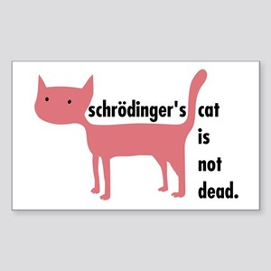 Schrödinger's Cat Sticker (not dead)