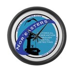 Nor'easters Club Large Wall Clock
