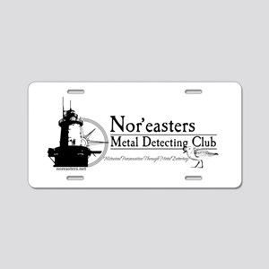 Nor'easters Club Aluminum License Plate