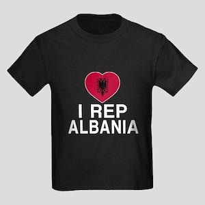 I Rep Albania Kids Dark T-Shirt