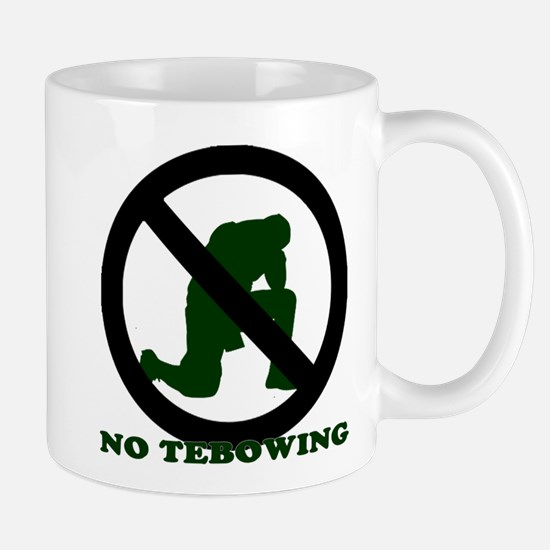 No Tebowing! Mug