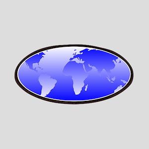 world dark blue: Patches