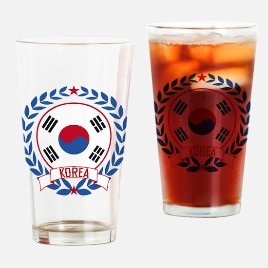 Korea Wreath Drinking Glass