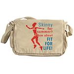 Fit For Life Messenger Bag