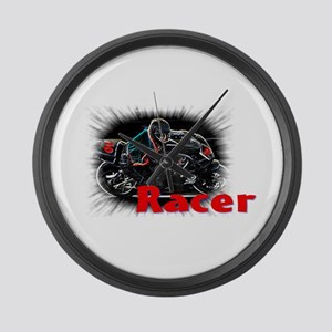 racer Large Wall Clock
