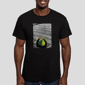 Oregon Ducks Fan Men's Fitted T-Shirt (dark)