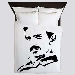 You had me at Tesla Queen Duvet
