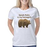 Sarah Palin Homegirl grizz Women's Classic T-Shirt