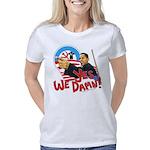 Obama Yes We Damn 2 trsp Women's Classic T-Shirt