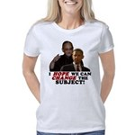 Obama hope change subject  Women's Classic T-Shirt