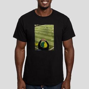 Oregon Ducks Fan 2 Men's Fitted T-Shirt (dark)