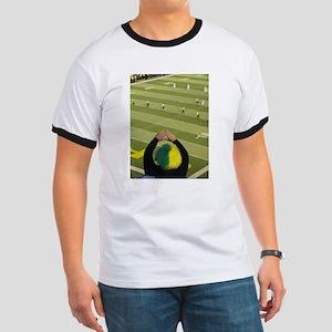 Oregon Ducks Fan 2 Ringer T