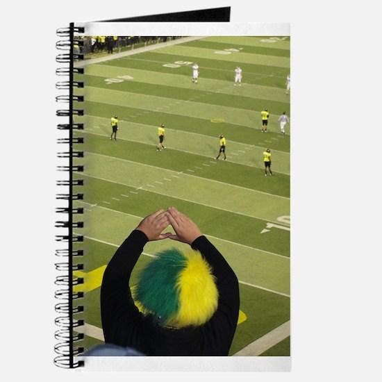 Oregon Ducks Fan 2 Journal