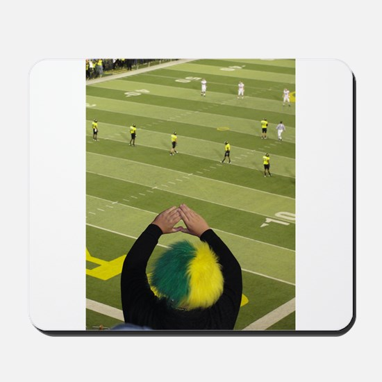 Oregon Ducks Fan 2 Mousepad
