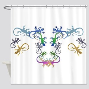Lizzards Shower Curtain