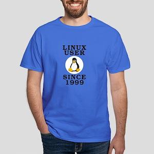 Linux user since 1999 - Dark T-Shirt