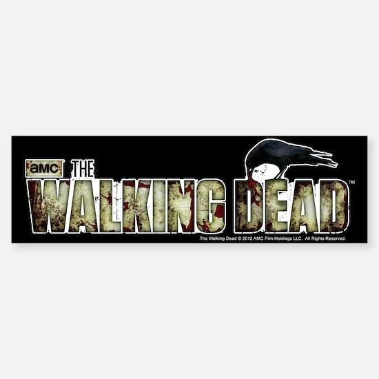The Walking Dead Flesh Sticker (Bumper)