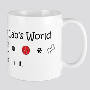 It's My Dog's World - I Just Live in it Mug