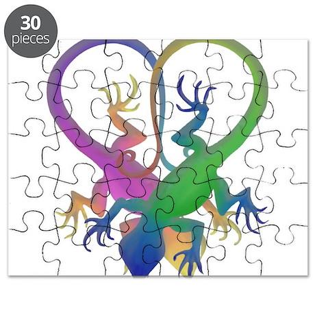 Love geckos Puzzle