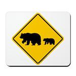 Bear Migration CA Mousepad