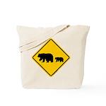 Bear Migration CA Tote Bag