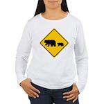 Bear Migration CA Women's Long Sleeve T-Shirt