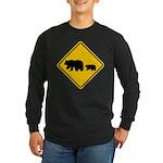 Bear Migration CA Long Sleeve Dark T-Shirt