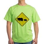 Bear Migration CA Green T-Shirt